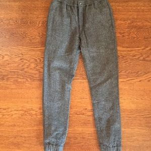 New j crew wool stadium jogger
